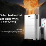 La gama de productos Huawei FusionSolar Residential Smart PV gana el iF Design Award