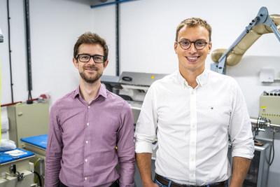 Echion Technologies co-founders: Jean de La Verpilliere, CEO (right) and Alex Groombridge, CTO (left)