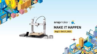 Snapmaker 5th-anniversary: Make It Happen