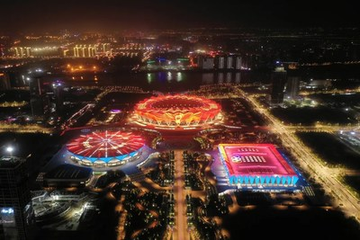 Xi'an estimula el desarrollo del sector deportivo, y los próximos 14.°Juegos Nacionales serán un impulso para ello (PRNewsfoto/Xi'an Municipal Government)