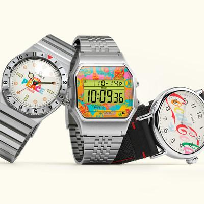 Dése tiempo para la paz, el amor y la armonía con la colección Unity de Timex x Coca-Cola, que presenta ediciones inspiradas en los años 70 de Q Timex, Timex T80 y Timex Standard.